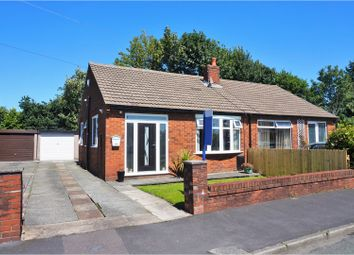Thumbnail 2 bed semi-detached bungalow for sale in Coppice Drive, Wigan