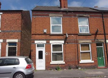 Thumbnail 2 bed terraced house to rent in Staples Street, Mapperley, Nottingham