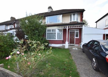 Thumbnail 3 bed semi-detached house to rent in Greenheys Drive, London