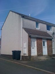 Thumbnail 1 bed flat to rent in Haggett End Close, Egremont, Cumbria