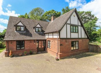 Thumbnail 4 bed detached house for sale in Newmarket Road, Burwell, Cambridge