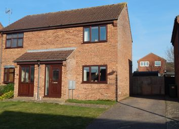 Thumbnail 2 bed semi-detached house for sale in Coxs Close, Beccles