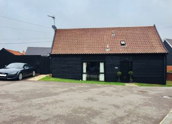 Thumbnail 3 bed barn conversion for sale in Creeting Road, Stowupland, Stowmarket