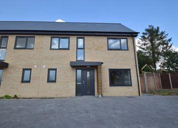 Thumbnail 2 bedroom semi-detached house for sale in Water Lane, Barnardiston, Haverhill