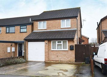 Thumbnail 3 bed detached house for sale in Lower Meadow, Quedgeley, Gloucester
