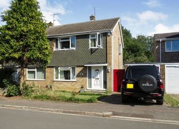 Thumbnail 3 bed semi-detached house for sale in Stour Way, Bedford