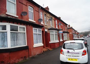 Thumbnail 3 bed terraced house for sale in Heald Place, Rusholme
