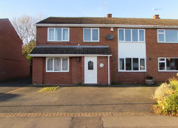 Thumbnail 4 bedroom semi-detached house for sale in Linden Farm Drive, Countesthorpe, Leicester