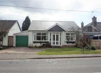 Thumbnail 3 bed detached bungalow for sale in Wood Lane, Solihull