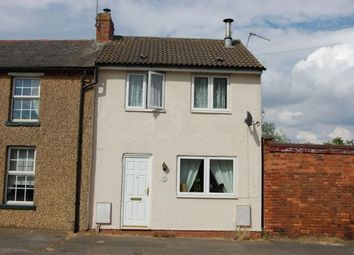 Thumbnail 2 bed end terrace house to rent in Welford Road, Creaton, Northampton