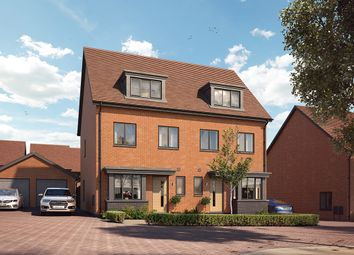 "Thumbnail 3 bed property for sale in ""The Halstead"" at Crick Road, Hillmorton, Rugby"