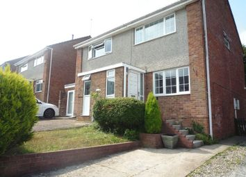 Thumbnail 2 bed semi-detached house to rent in Rutland Close, Barry