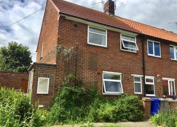 Thumbnail 2 bed end terrace house for sale in Cranbeck Close, Bridlington