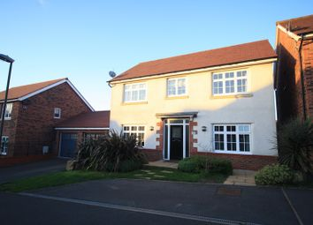 Thumbnail 4 bed detached house for sale in Newman Drive, Swadlincote, Derbyshire, Derbyshire