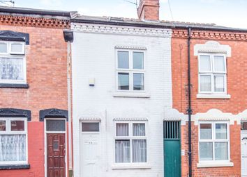 Thumbnail 4 bedroom terraced house for sale in Sherrard Road, Leicester