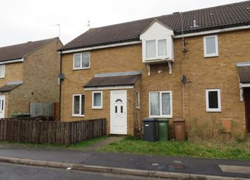 Thumbnail 2 bed terraced house to rent in Eaglesthorpe, Peterborough
