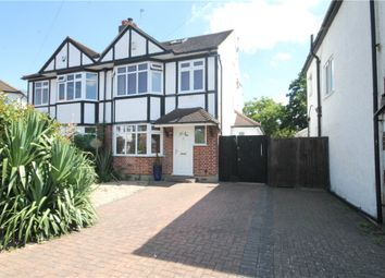 Thumbnail 4 bed semi-detached house for sale in Templedene Avenue, Staines, Middlesex