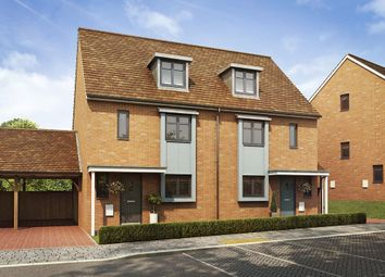 "Thumbnail 4 bed semi-detached house for sale in ""The Leicester"" at Southfleet Road, Swanscombe"