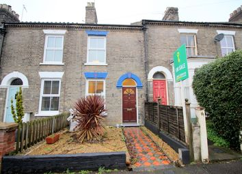 Thumbnail 3 bed terraced house for sale in Salisbury Road, Norwich