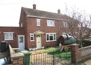 Thumbnail 2 bedroom semi-detached house for sale in Waveney Road, Hunstanton