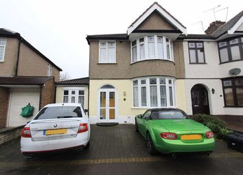 Thumbnail 3 bed end terrace house for sale in Tavistock Gardens, Ilford, Essex