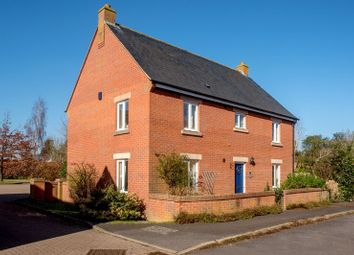 Thumbnail 4 bed detached house for sale in Chapel Close, North Curry, Taunton