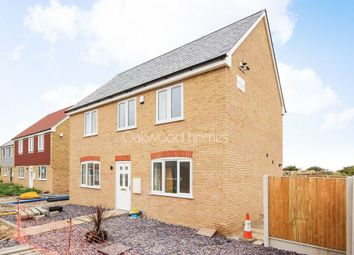Thumbnail 3 bed detached house for sale in Manston Road, Manston, Ramsgate
