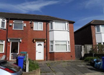 Thumbnail 3 bed semi-detached house for sale in Goring Avenue, Gorton, Manchester
