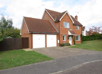 Thumbnail 4 bed detached house for sale in Lower Coney Grove, Offton, Ipswich