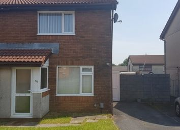 Thumbnail 2 bedroom semi-detached house to rent in Lon Enfys, Llansamlet