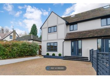 Thumbnail 4 bed semi-detached house to rent in Plough Hill, Cuffley, Potters Bar