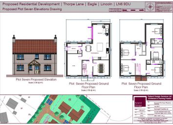 Thumbnail 5 bed detached house for sale in Thorpe Lane, Eagle, Lincoln