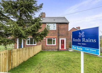 Thumbnail 2 bedroom semi-detached house for sale in Tyne Avenue, Leadgate, Consett