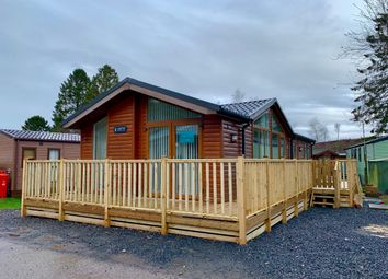 Thumbnail 3 bedroom lodge for sale in Lowther Holiday Park, Penrith - Cumbria