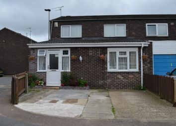Thumbnail 3 bed semi-detached house for sale in Ickworth Close, Behind Off Overton Road, Leicester
