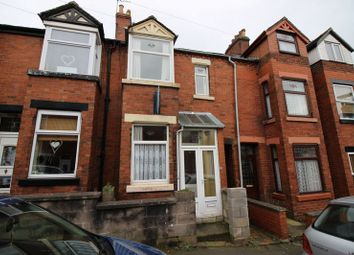 Thumbnail 2 bed terraced house for sale in Cruso Street, Leek, Staffordshire