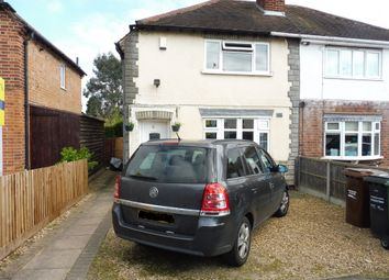 Thumbnail 3 bed semi-detached house for sale in Paget Avenue, Birstall, Leicester