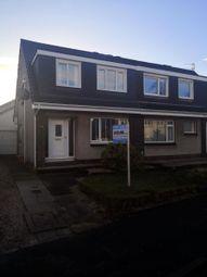Thumbnail 3 bed semi-detached house for sale in Netherhouse Avenue, Lenzie, Kirkintilloch, Glasgow