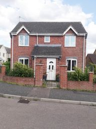 Thumbnail 3 bed detached house for sale in Applegarth Close, Corby