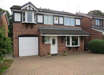 Thumbnail 4 bed detached house for sale in Shepherds Fold Drive, Winsford