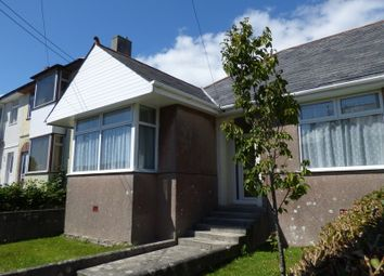 Thumbnail 3 bedroom semi-detached bungalow for sale in Morrish Park, Plymstock, Plymouth
