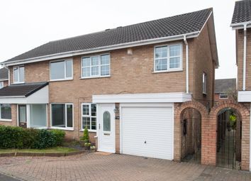 Thumbnail 3 bed semi-detached house for sale in Forge Croft, Minworth, Sutton Coldfield