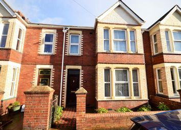 Thumbnail 3 bed terraced house to rent in Ladysmith Road, Heavitree, Exeter, Devon