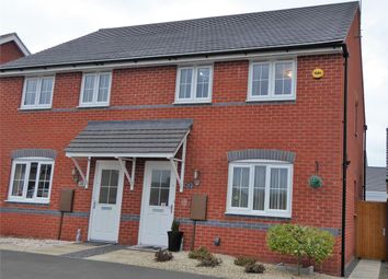 Thumbnail 3 bed semi-detached house for sale in Sunderland Close, (Off Glasgow Close) Church Gresley