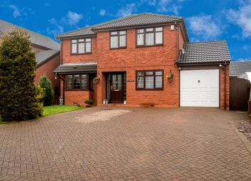 Thumbnail 4 bed detached house for sale in Tumble Trees, Highfield Road, Heath Hayes