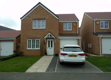 Thumbnail 4 bed detached house for sale in Corporal Roberts Close, Hemlington, Middlesbrough