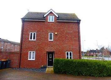 Thumbnail 4 bed town house for sale in Horace Close, Shortstown, Bedford