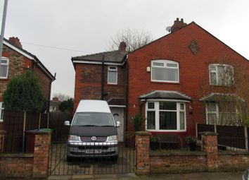 Thumbnail 3 bed semi-detached house for sale in Barlow Hall Road, Chorlton Cum Hardy, Manchester