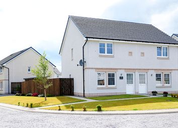 Thumbnail 2 bed semi-detached house for sale in Cornwell Crescent, Fortrose