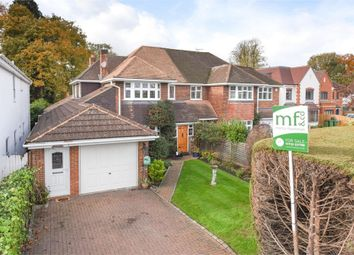 Thumbnail 4 bed semi-detached house for sale in West Grove, Hersham, Walton-On-Thames